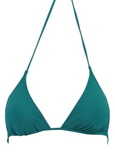 Calvin Klein Bikini Üst Yeşil